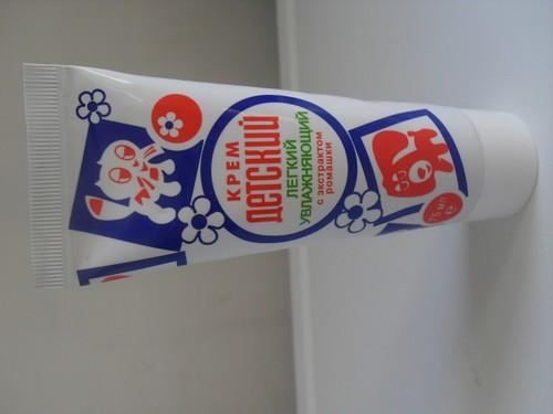 пилинг с детским кремом