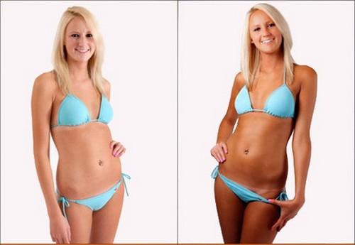 фото до и после нанесения авто загара