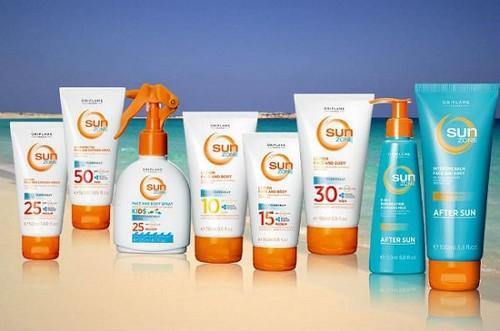 Крема защищающие от солнца