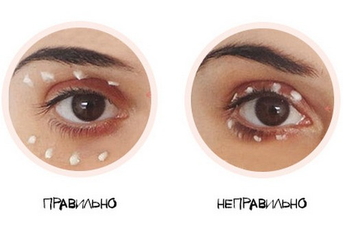 крем вокруг глаз