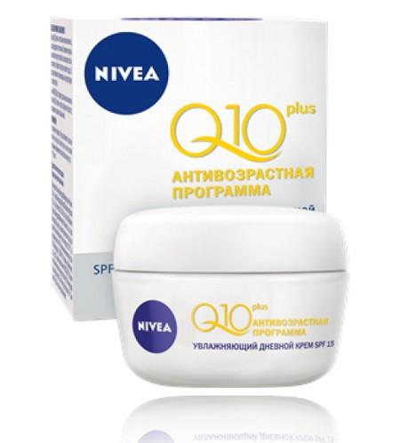 Увлажняющий дневной крем против морщин Q10 plus NIVEA